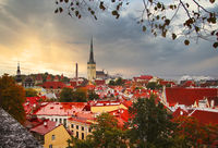 The City Tallinn, Estonia, baltic States, Europe