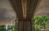 Brooklyn Bridge bridge girder