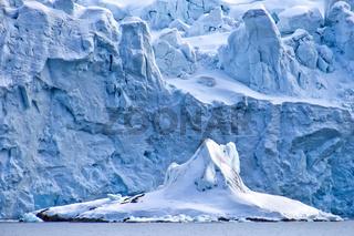 Deep Blue Glacier, Arctic, Svalbard, Norway