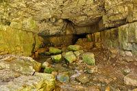 Falkensteiner Höhle, Höhleneingang,  auf der Schwäbischen Alb