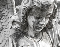 Image of a sad angel
