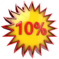 star discount of ten percent