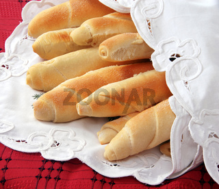 Appetizing homemade bread