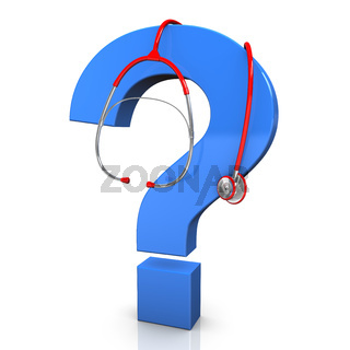 Stethoscope Question Mark