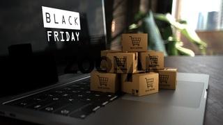 Notebook Black Friday Parcels Online Shopping