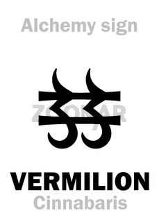 Alchemy: CINNABAR (Cinnabaris) / Vermilion