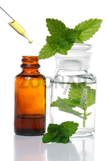 Herbal medicine or aromatherapy dropper bottle