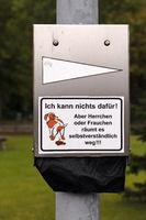 Schilder in Eckernfoerde. 005