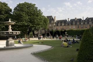 Place de Voges in Paris