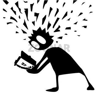 Head Explosion Revelation Cartoon