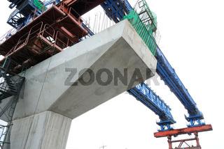 BTS rail construction