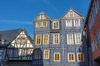 Das Schiefe Haus in Idstein, Taunus, Hessen, Deutschland