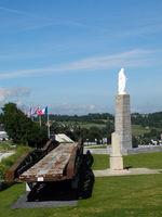 War memorial in Arromanches, Normandie