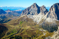 The part of the Dolomiti
