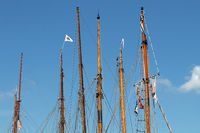 Segelboote 001. Flensburg. Deutschland