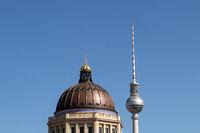 Fernsehturm und Kuppel. Berlin. Deutschland