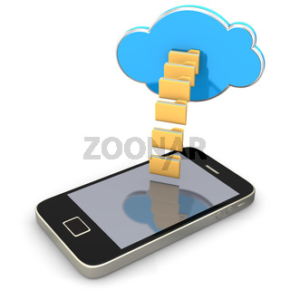 Folders Cloud Smartphone