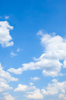Clouds - Vertical background