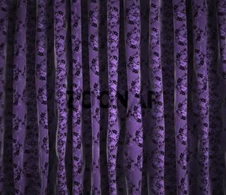 Background vintage curtains