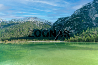 Der Dürrensee in den italienischen Dolomiten