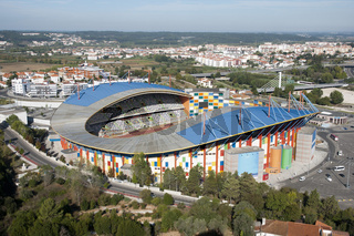 Football stadium of Leiria