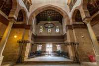 Beshtak Palace, an ancient historic palace built in the Mamluk era, located in Muizz Street, Cairo, Egypt