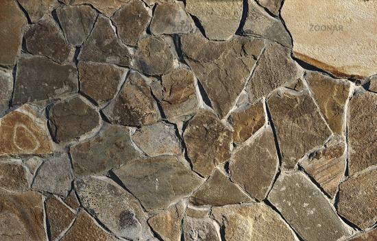 Stone tiles wall