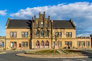 Impressionen aus der welterbestadt Quedlinburg Bahnhof