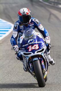 Randy de Puniet pilot of MotoGP