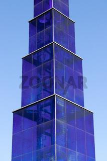 Glasskulptur in Berlin. Deutschland
