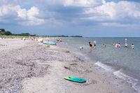 Dahme Beach in Schleswig-Holstein, Germany