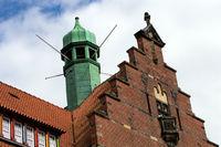 Hausfassaden 001. Flensburg. Deutschland
