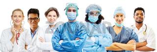 Gruppe von Ärzten als Konzept für Krankenhaus Team