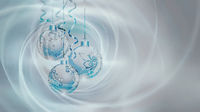 Light Silver Blue Background for New Year