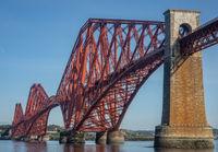 Forth Bridge In Scotland