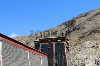 Kloster Sakya   Shigatse Tibet China