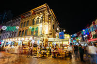 Famous Chinatown Architecture in Singapore