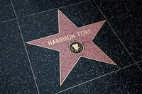 HOLLYWOOD, CALIFORNIA, USA - JULY 29 : Harrison Ford Star in Hollywood on July 29, 2011