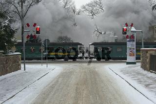 Schmalspubahn Stadtdurchfahrt Radebeul