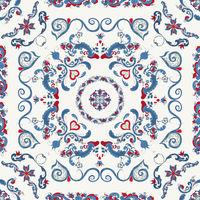Rosemaling vector pattern 35.eps