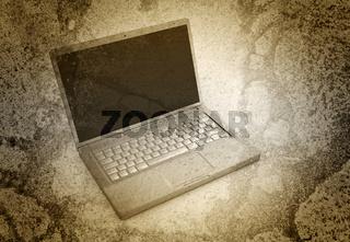 Laptop - Grunge look