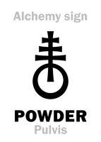 Alchemy: POWDER (Pulvis)