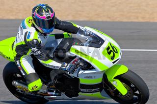 Blake Leigh-Smith pilot of Moto2 of the CEV