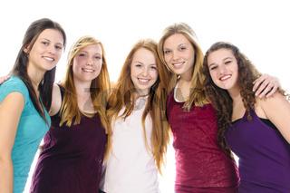 Five Cute Girls