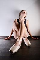pretty young ballerina