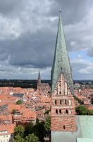 Kirche St. Johannis und Kirche St. Nicolai in Lüneburg
