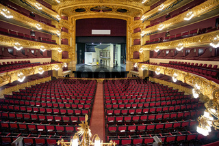 Barcelona. Catalonia. Spain. The Gran Teatre del Liceu Opera House