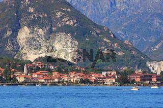 Lake Maggiore. Northern Italy.