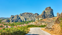 Meteora in Greece - landscape