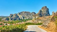 Meteora in Greece - landscape